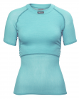 Lady Wool Thermo Light T-Shirt Aqua