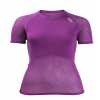 Lady Wool Thermo Light T-Shirt Violett