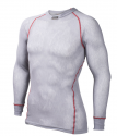 Wool Thermo Light Shirt Light grey