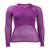 Lady Wool Thermo Light Shirt Violet
