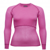 Lady Wool Thermo Light Shirt Pink