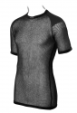 Wool Thermo T-Shirt mit Schultereinlage Black