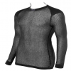 Wool Thermo Shirt mit Schultereinlage Black