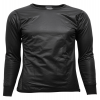 Super Thermo Shirt mit Windstopp vorne (Brust/Arm) Black