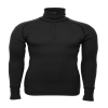 Arctic Double Zip Polo Black