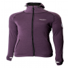 Arctic Double Jacke mit Kapuze Purple