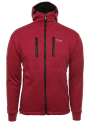 Antarctic Jacke mit Kapuze Red