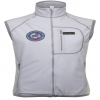 Polar Fleece Weste mit Windstopper White