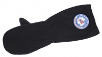 Polar Fleece Insulation Mittens Black