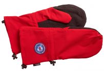 Skald Shell Expedition Handschuhe Kurz Red