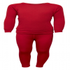 Kids Arctic Double Set Red