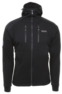 Antarctic Jacket with Hood and shoulder inlay